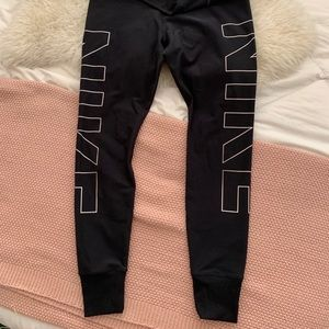 Nike dri-fit logo leggings